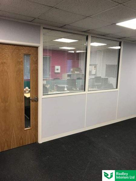 Soundproof offices