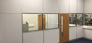 Industrial partitioning installed to Leeds workplace