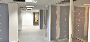 Fitting out an office space within Warrington