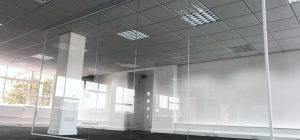The simple installation of glass walls can change your office dynamic