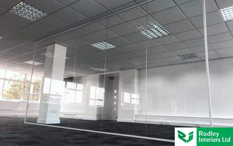 Office fit out and partitioning