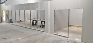 Industrial partitioning works well underway in West Yorkshire
