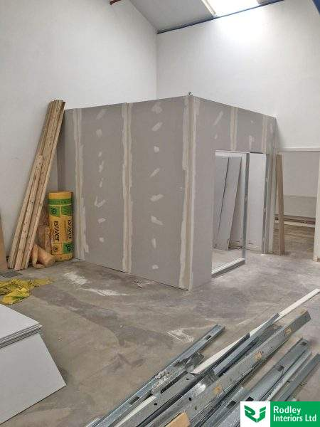 Industrial partitioning with west yorkshire