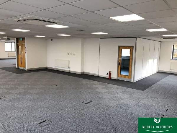 new flooring and doors