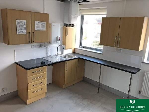 old office kitchen