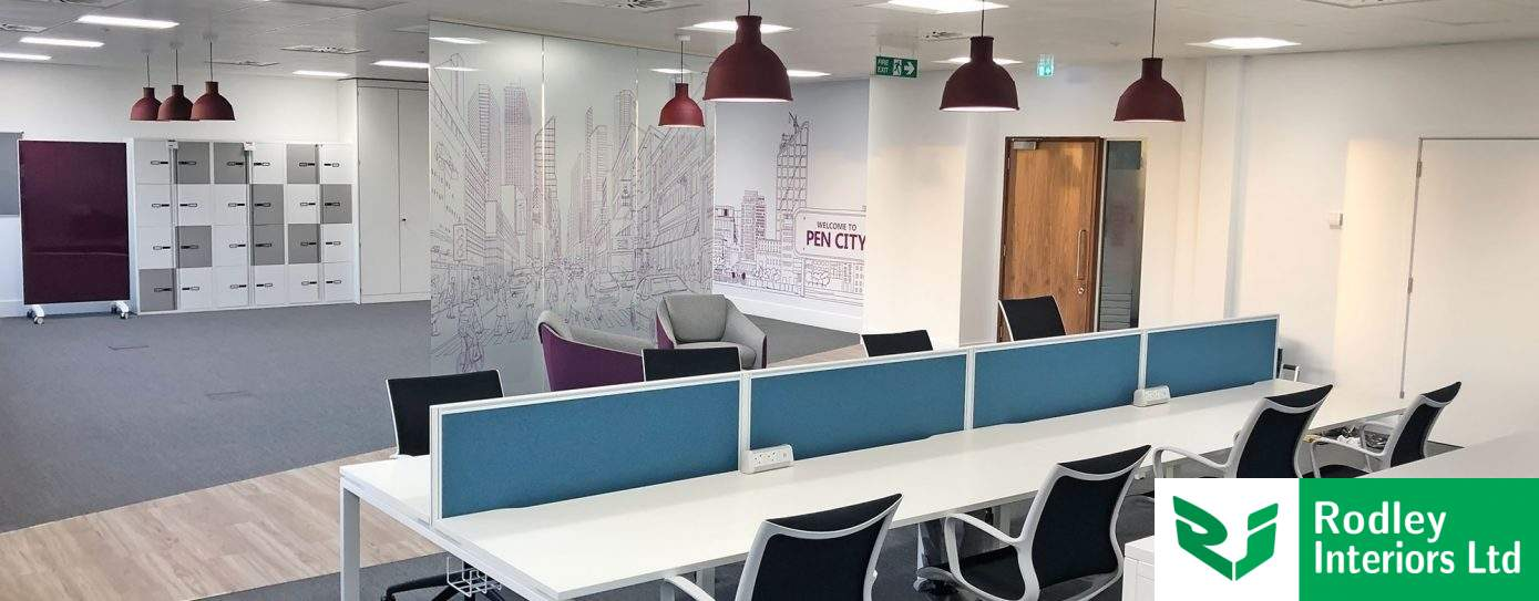Case Study: High-spec refurbishment in Wakefield using full-wall graphics