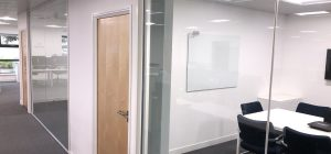 Leeds office partitioning