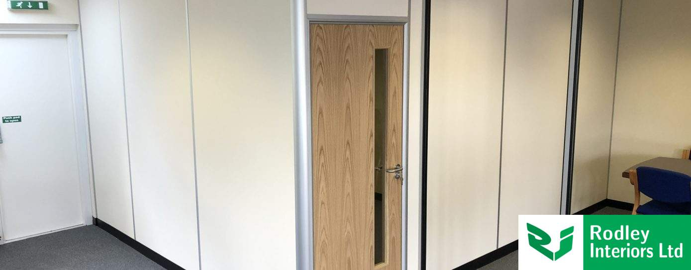 Budget office partitioning for West Yorkshire commercial office
