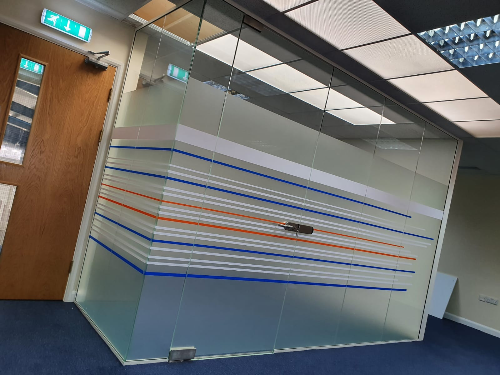 Leeds Frameless Glass Partitions