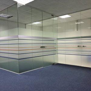 Leeds Frameless Glass Partitions