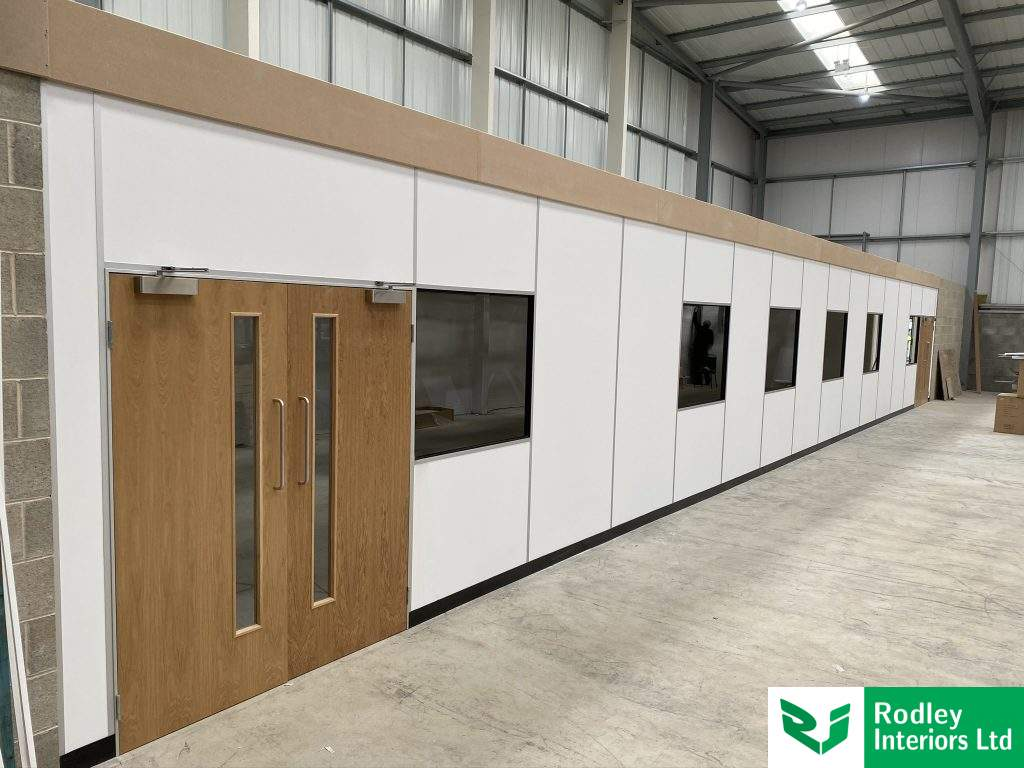 Warehouse Partitioning in Huddersfield