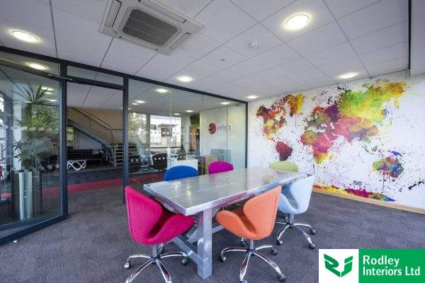 Office Refurbishment with Glass