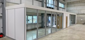 Rodley Interiors appointed for Wakefield warehouse partitioning project