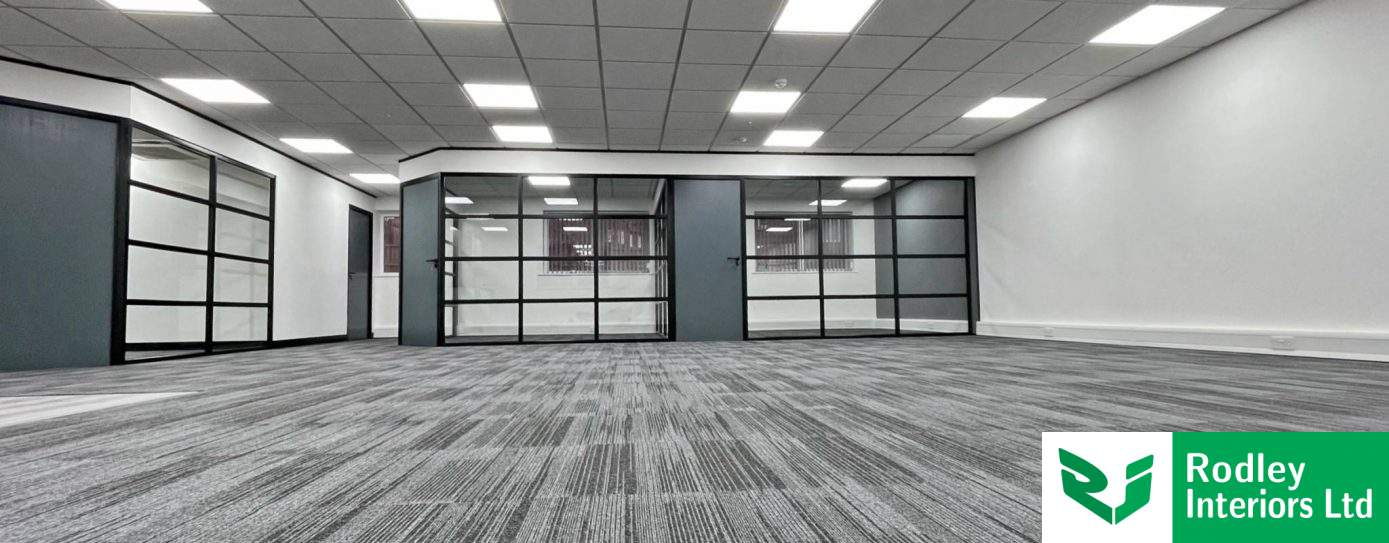Case Study: Industrial Style Glass Offices in Leeds