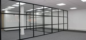 Glass Partitioning systems for todays Commercial Environment