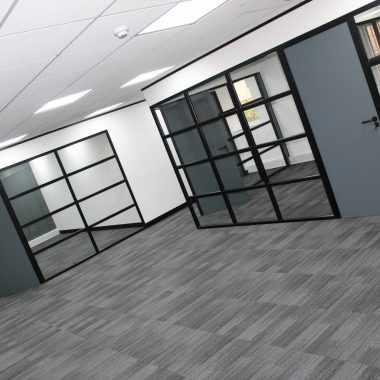 Industrial Glass Partitions