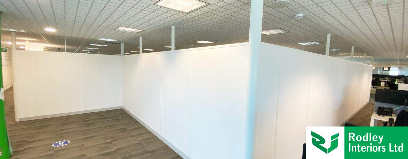 Office Refurbishment with new Partitioning and Suspended Ceilings