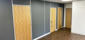 North Yorkshire Office Partitioning Install now complete